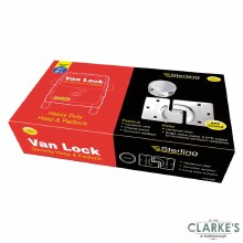 Sterling Van Lock Security HASP and Padlock