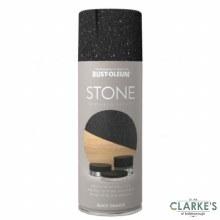 Rust-Oleum Stone Textured Spray Paint Black Granite 400 ml