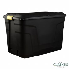 Strata Heavy Duty Storage Box with Lid 190 Litre