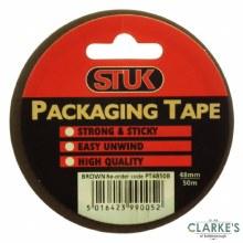 Stuk Brown Packing Tape 48mmx50m