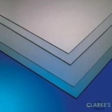 Styrene Clear Glazing Sheet 4x2