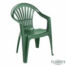 Plastic Garden Chair Green