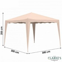 Garden Marqee - Gazebo Easy Up 3 x 3 Meter