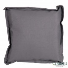 Outdoor Waterproof Cushion Grey 42x42cm