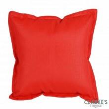 Outdoor Waterproof Cushion Red 42x42cm