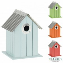 Sunnydays Wooden Bird House
