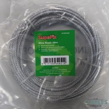 SupaFix Galvanised Wire Rope 3mm x 20m