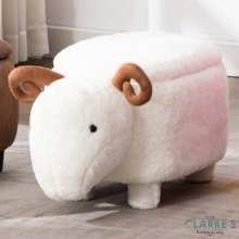Susie Sheep Stool with Storage
