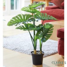 Swiss Cheese - Faux Indoor Plant