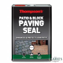 Thompson's Patio and Block Paving Seal Natural 5 Litre