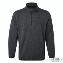Fortress Easton Pullover Grey