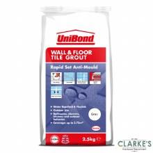 Unibond Wall & Floor Tile Grout Grey 2.5 kg