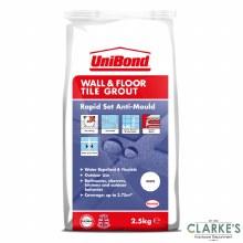 Unibond Wall & Floor Tile Grout White 2.5 kg