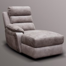 Urban Left Hand Facing Chaise Module Charcoal