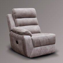 Urban Left Hand Facing Recliner Module Charcoal