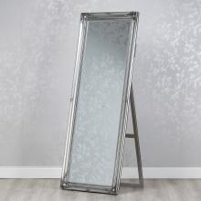 Chateu Cheval Silver Mirror 63x168cm