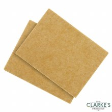 Woodside Felt Self Adhesive Pads Pack of 2