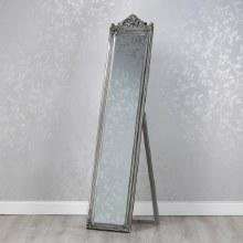 Mirror Cheval Silver