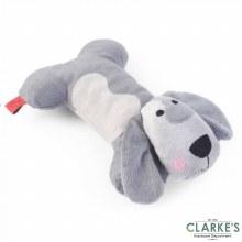 Sausage Doggie Grey Dog Toy