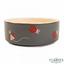 Ladybug - Ceramic Pet Bowl 15 cm