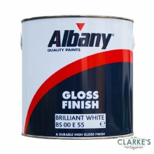 Albany Gloss Finish White