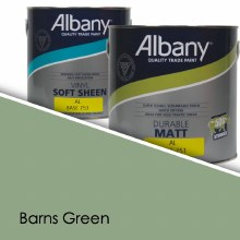 Albany Soft Sheen Barns Green Colour Sheet