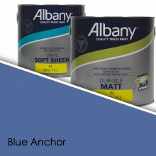 Albany Soft Sheen Blue Anchor Colour Sheet