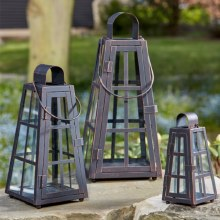 Alexandria Garden Lanterns Pack of 3