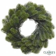 Green Christmas Wreath 50cm