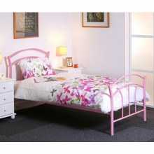 Amy 3ft Pink Bed Frame