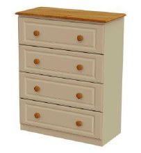 Annagh Ivory4 Drawer Chest