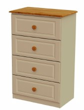 Annagh Ivory 4 Drawer Chest