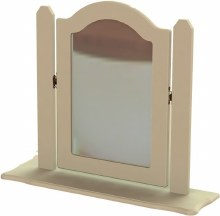 Annagh Ivory Single Orinate Mirror