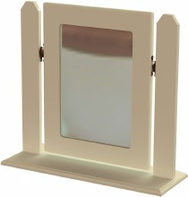 Annagh Ivory Single Square Mirror