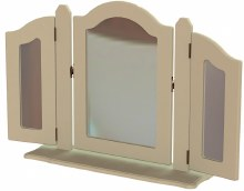 Annagh Ivory Triple Orinate Mirror