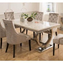 Arianna Cream Dining Table