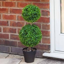 Artificial Duo Topiary Tree 60 cm