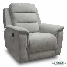 Ashford 1 Seater Recliner Light Grey