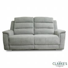 Ashford 3 Seater Recliner Sofa Light Grey