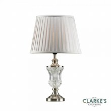 Ashley Table Lamp Silver/Grey 63cm