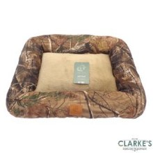Aspen Camo Pet Bed Beige