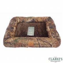 Aspen Camo Pet Bed Brown