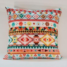 Aztec Native Geo Stripe Cushion