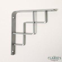 Duraline Step Shelf Bracket Silver 14.5cm
