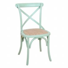 Balmoral Cross Back Chair Green