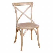 Balmoral Cross Back Chair Natural