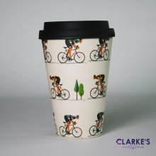 Bamboo Eco Mug Bike