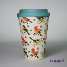Bamboo Eco Mug Birds