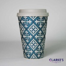 Bamboo Eco Mug Ornate Tile
