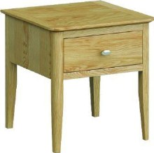 Bath Lamp Table with Drawer